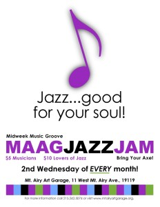 Generic Jazz Jam Flyer