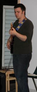Jazz Jam guitarist