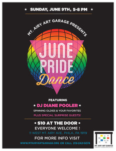 Pride Dance Flyer