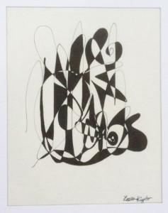 pen & ink by Laura Kingbo
