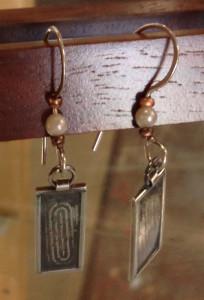 Earrings by Martha Kent Martin