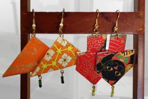 earrings by Yulan Mimmy San