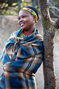 African Woman, a photograph by Ellie Seif