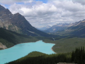 Alberta Canadian Mountains, a photograph by Patricia Smith