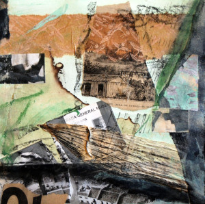 Cuba, mixed media, by Ann Breinig