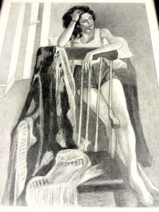 drawing by Robert Finch