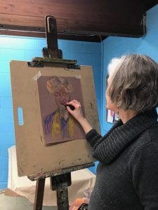 """Drawing From Live Models"""" Twice Every Month @ Mt  Airy Playground"""